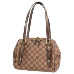 LOUIS VUITTON Rivington PM Womens shoulder bag N41157 Damier ebene