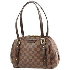 LOUIS VUITTON Rivington PM Womens shoulder bag N41157 Monogram ebene