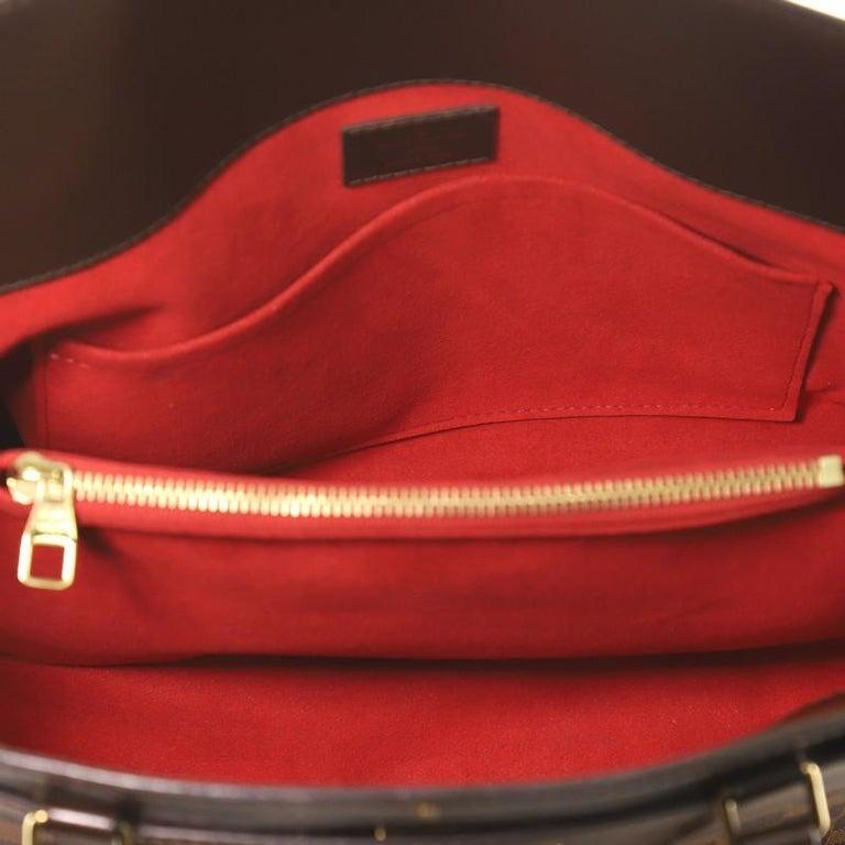 Louis Vuitton Rivoli Handbag Damier MM For Sale 1
