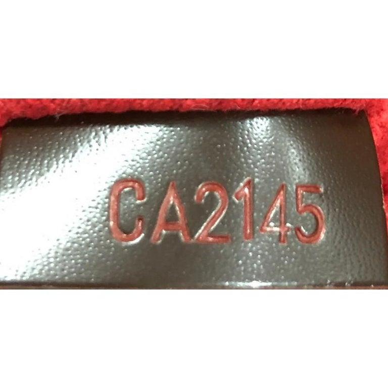 Louis Vuitton Rivoli Handbag Damier MM For Sale 2