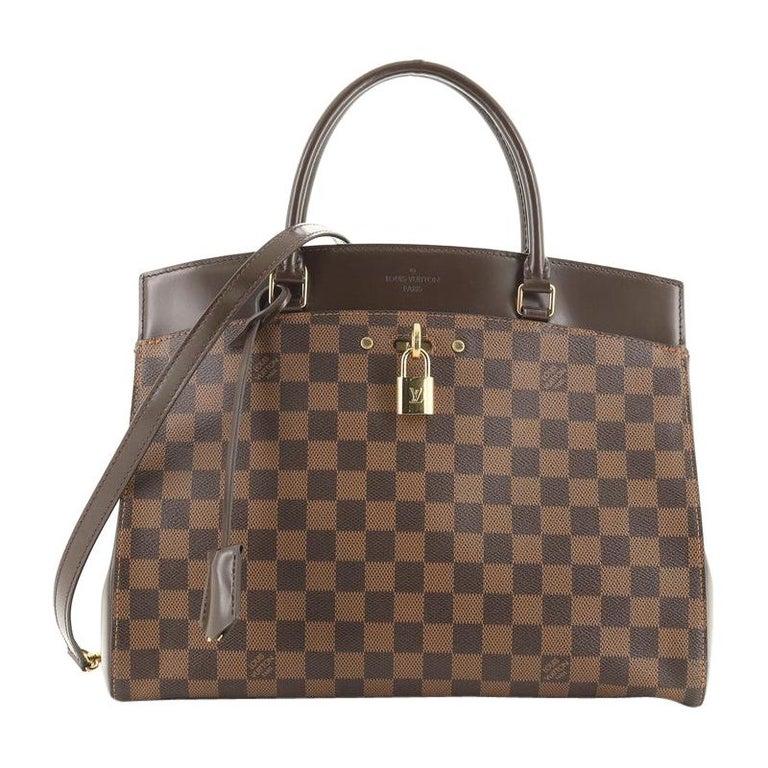 Louis Vuitton Rivoli Handbag Damier MM For Sale
