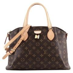 Louis Vuitton Rivoli Handbag Monogram Canvas MM