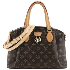 Louis Vuitton Rivoli Handbag Monogram Canvas PM