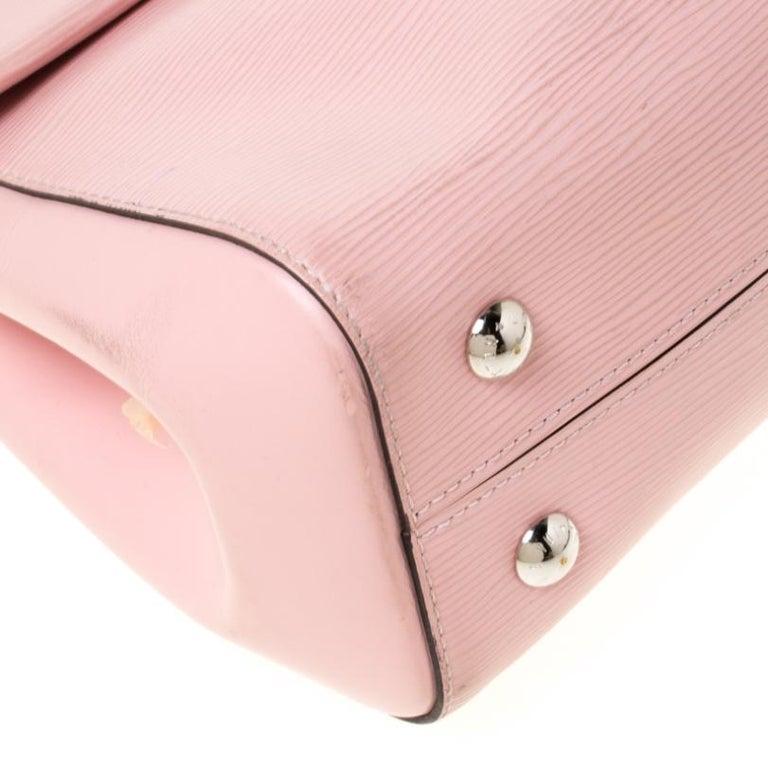 Louis Vuitton Rose Ballerine Epi Leather Cluny MM Bag 5