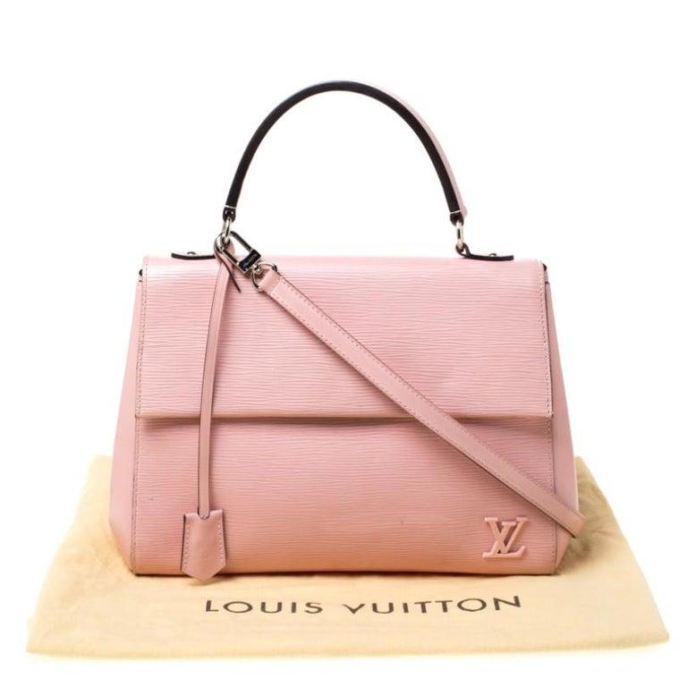 Louis Vuitton Rose Ballerine Epi Leather Cluny MM Bag 7