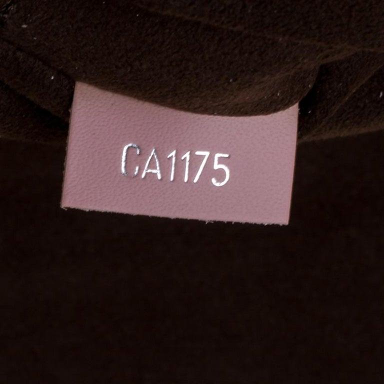 Louis Vuitton Rose Ballerine Epi Leather Cluny MM Bag 1