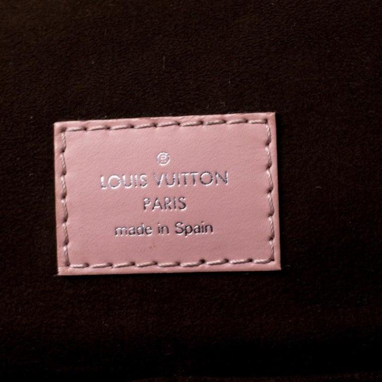 Louis Vuitton Rose Ballerine Epi Leather Cluny MM Bag 2