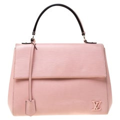 Louis Vuitton Rose Ballerine Epi Leather Cluny MM Bag