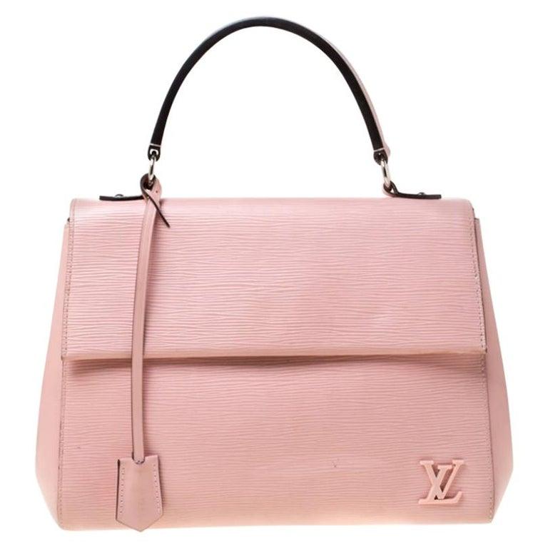 Louis Vuitton Rose Ballerine Epi Leather Cluny MM Bag