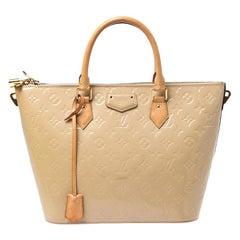 Louis Vuitton Rose Florentine Monogram Vernis Montebello MM Bag