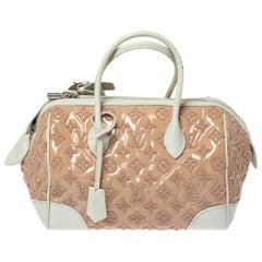 Louis Vuitton Rose Monogram Limited Edition Speedy Bouclettes Round Bag