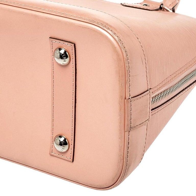Louis Vuitton Rose Nacre Epi Leather Alma PM Bag 1
