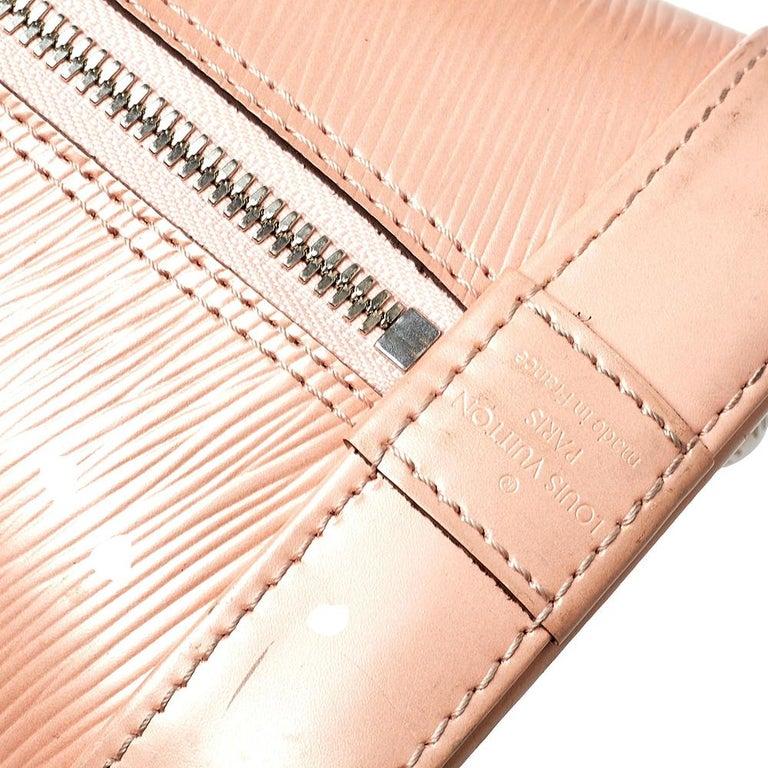 Louis Vuitton Rose Nacre Epi Leather Alma PM Bag 3