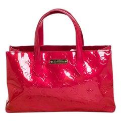 Louis Vuitton Rose Pop Vernis Wilshire PM Bag