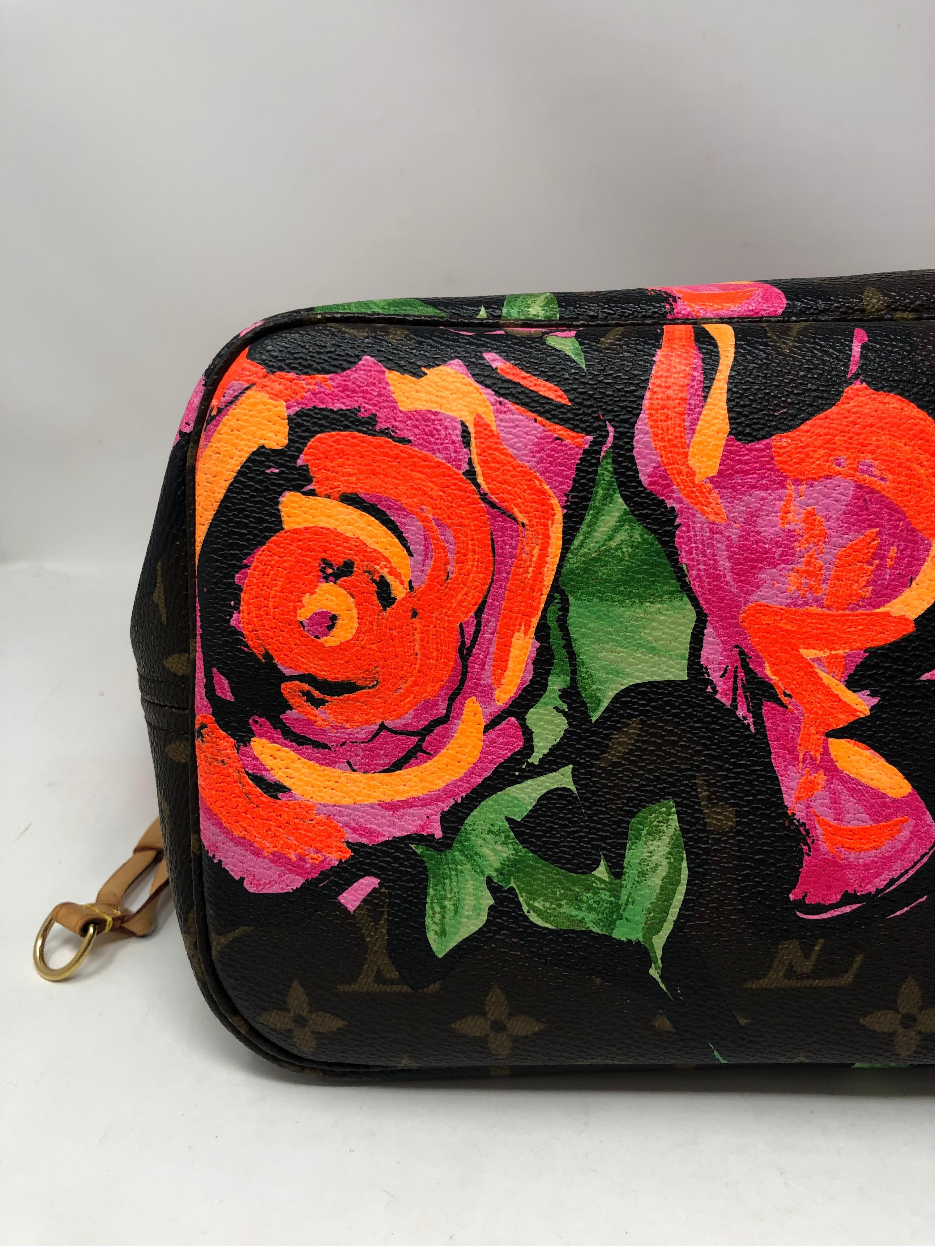 fa0870e7429c Louis Vuitton Roses Stephen Sprouse Neverfull For Sale at 1stdibs