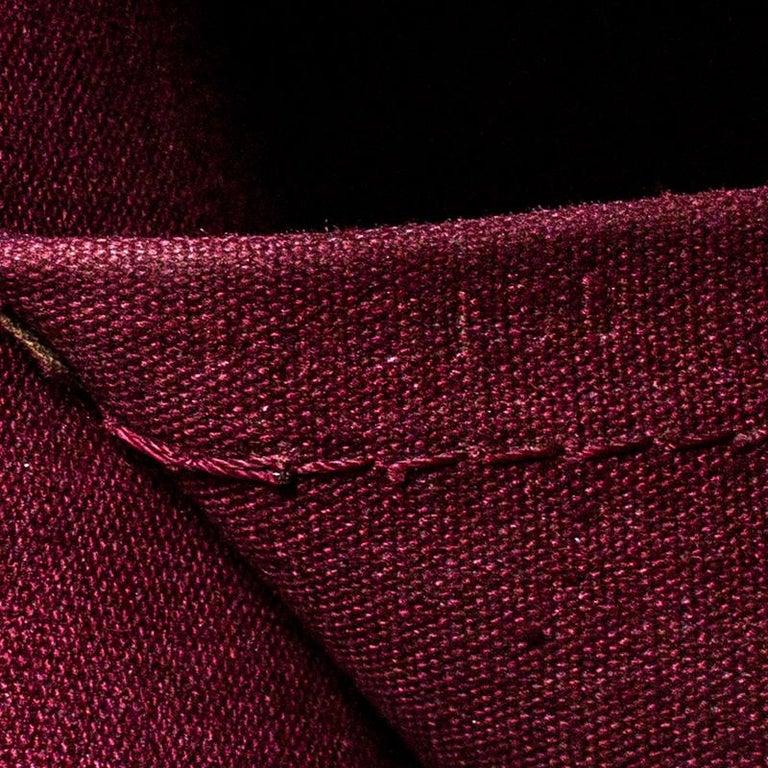 Louis Vuitton Rouge Fauviste Monogram Vernis Alma PM Bag For Sale 7