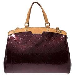 Louis Vuitton Rouge Fauviste Monogram Vernis Brea MM Bag