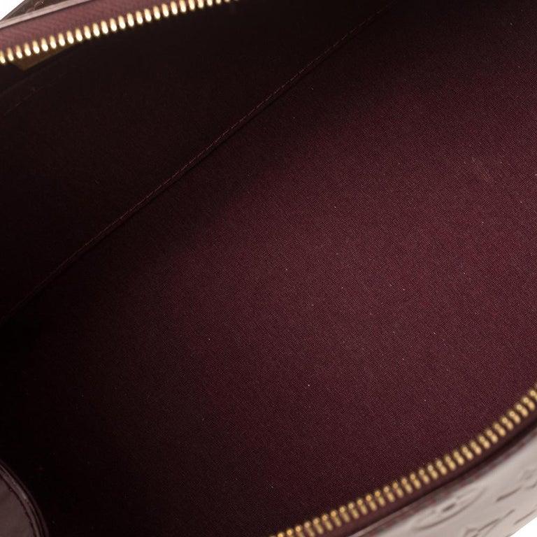 Louis Vuitton Rouge Fauviste Monogram Vernis Sherwood PM Bag 7