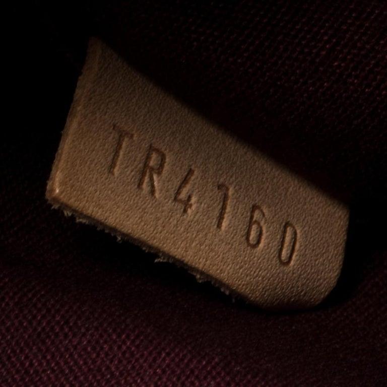 Louis Vuitton Rouge Fauviste Monogram Vernis Sherwood PM Bag 1