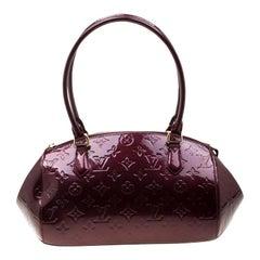 Louis Vuitton Rouge Fauviste Monogram Vernis Sherwood PM Bag