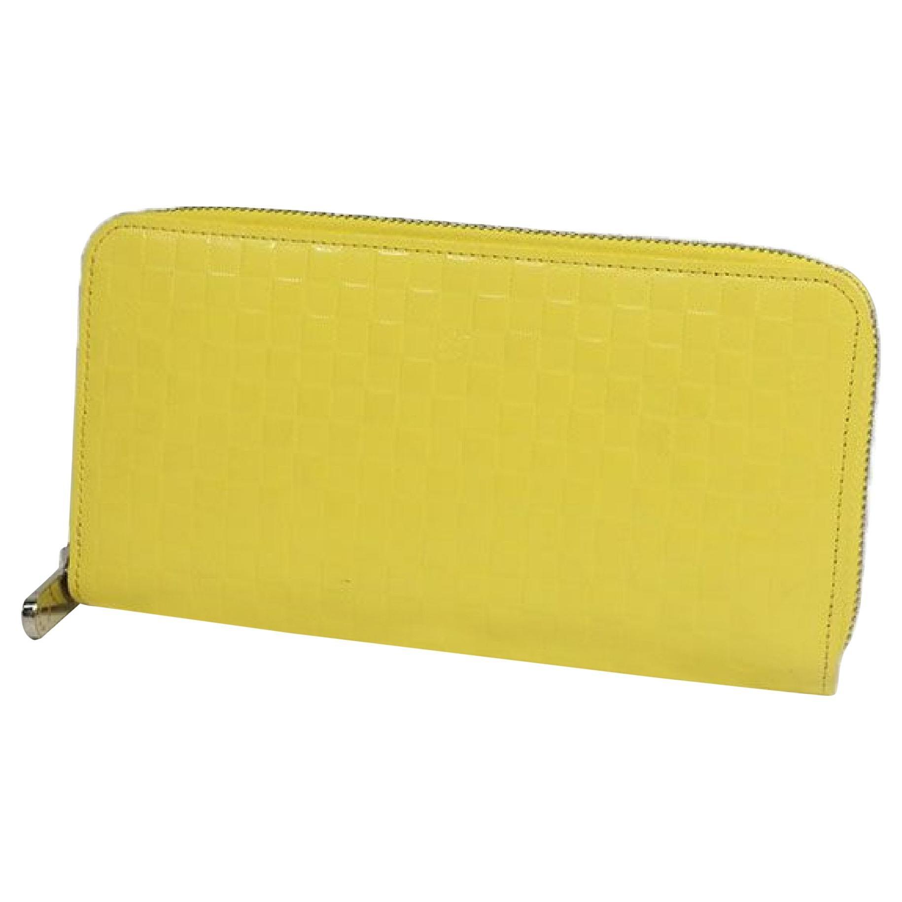 LOUIS VUITTON round zipper Zippy Wallet unisex long wallet M94401 Jaune