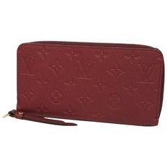 LOUIS VUITTON round zipper Zippy Wallet Womens long wallet M62214 Leysin