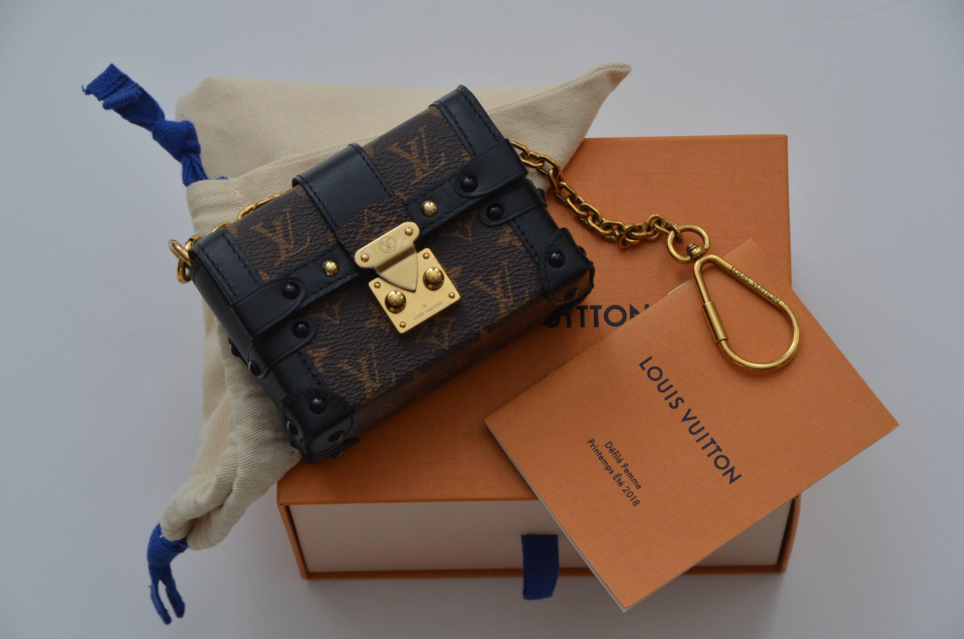 1c1b09deb391 Louis Vuitton Runway Miniature Essential Trunk Bag NEW Last One Available  For Sale at 1stdibs