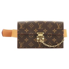 Louis Vuitton S Lock Belt Pouch Monogram Canvas