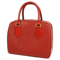 LOUIS VUITTON Sablon Womens handbag M52047 castilian red