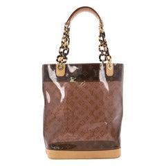 Louis Vuitton Sac Ambre Handbag Monogram Vinyl MM