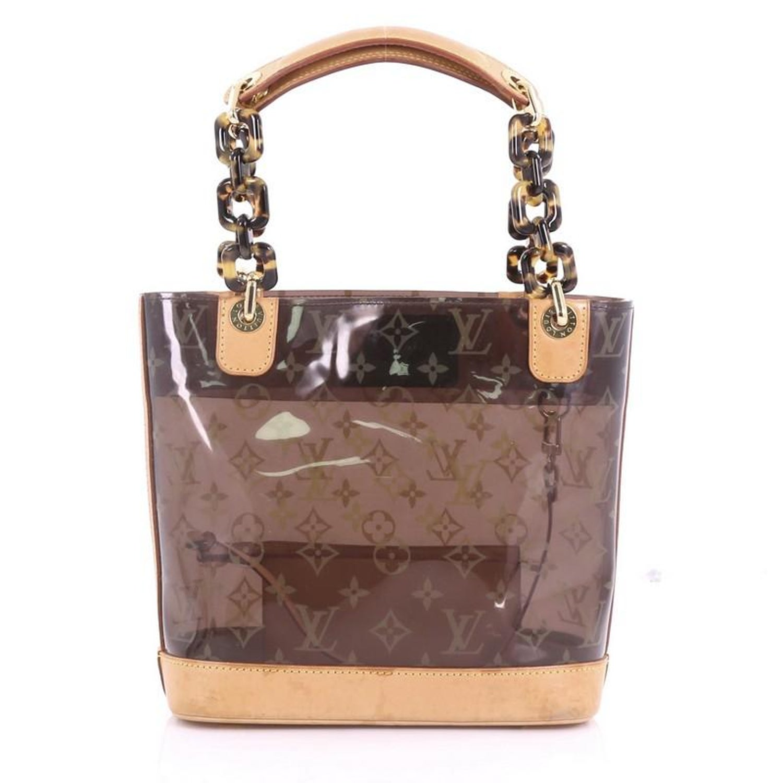 4d09eef1f7cb Louis Vuitton Sac Ambre Handbag Monogram Vinyl PM at 1stdibs