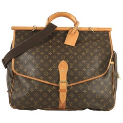Louis Vuitton Sac Chasse Hunting Bag Monogram Canvas