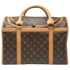 Louis Vuitton Sac Chien 40 Monogram Dog Pet Carrier Handbag