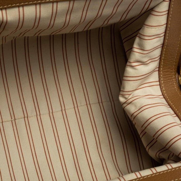 Brown Louis Vuitton Sac de Nuit Toile Limited Edition Trianon GM Bag For Sale