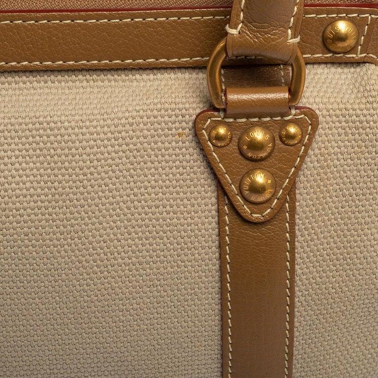 Louis Vuitton Sac de Nuit Toile Limited Edition Trianon GM Bag For Sale 3