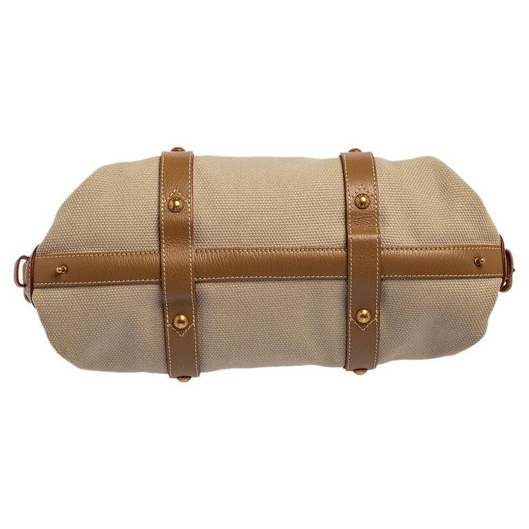 Louis Vuitton Sac de Nuit Toile Limited Edition Trianon GM Bag For Sale 4