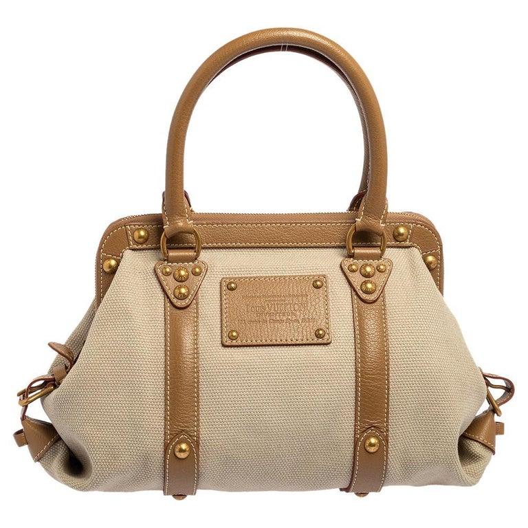 Louis Vuitton Sac de Nuit Toile Limited Edition Trianon GM Bag For Sale