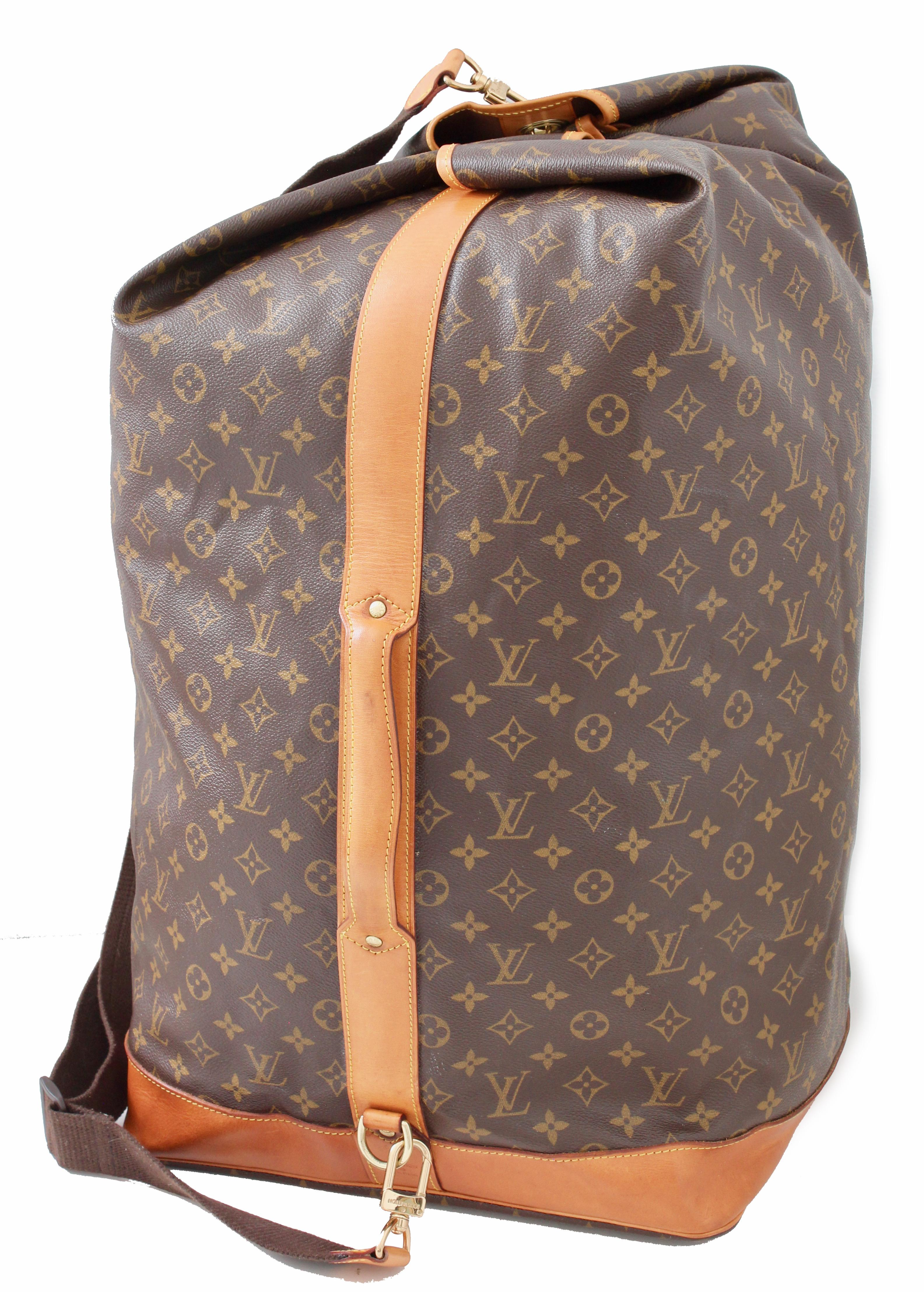 913d9b85c18f Louis Vuitton Sac Marin Sailor Bandouliere GM Travel Luggage Monogram  Canvas For Sale at 1stdibs