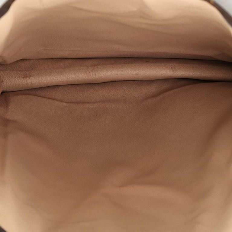 Louis Vuitton Sac Plat Handbag Monogram Canvas GM 1