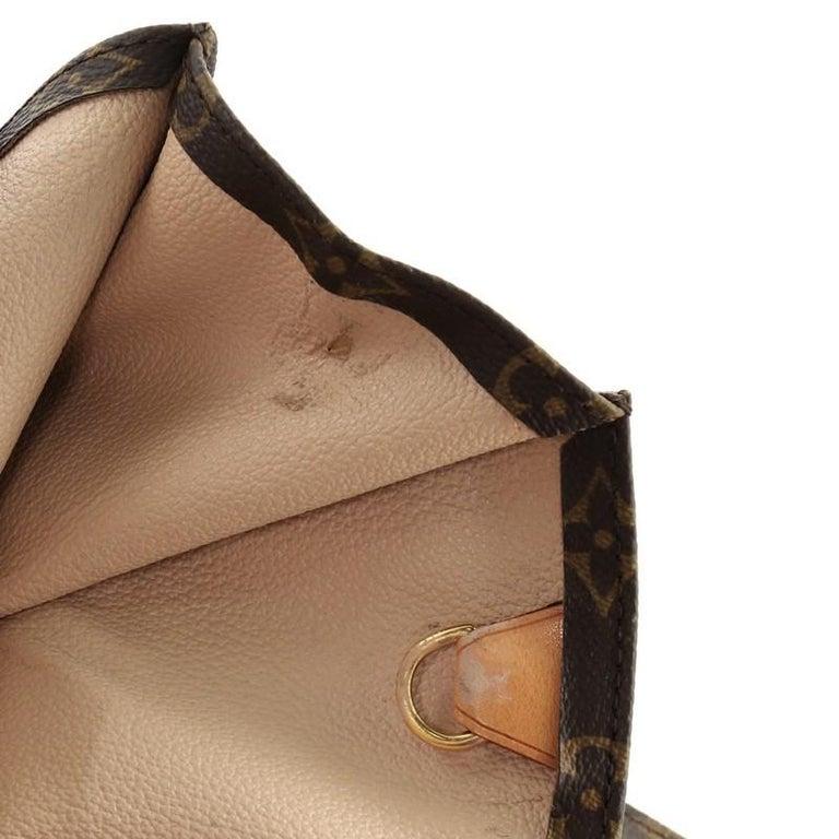 Louis Vuitton Sac Plat Handbag Monogram Canvas GM 2