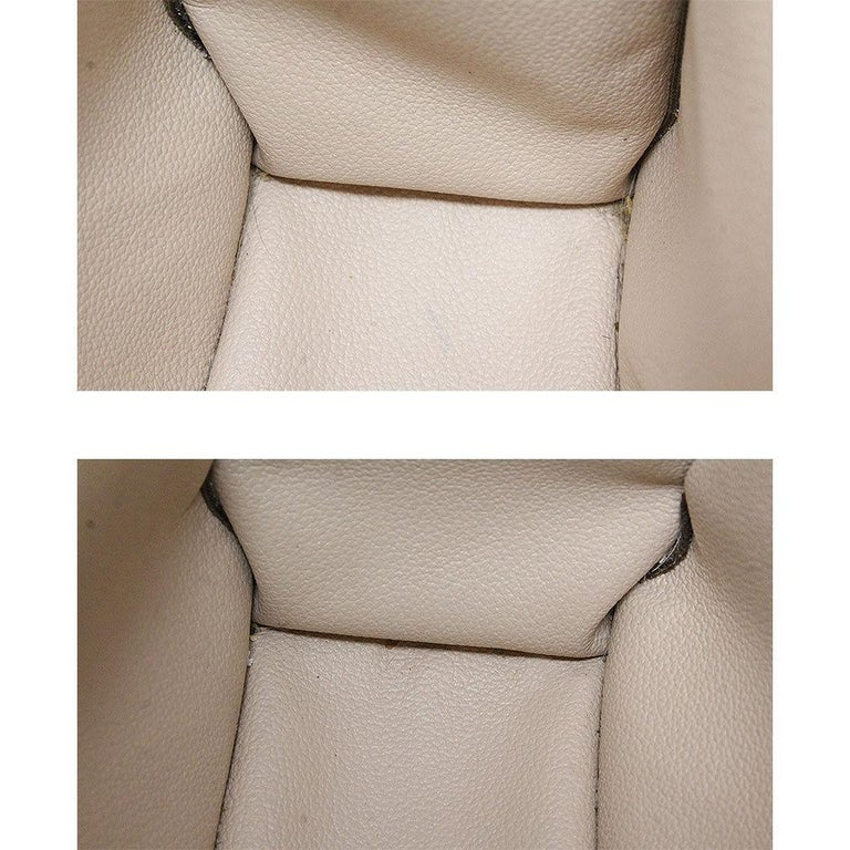 Louis Vuitton Sac Plat Monogram Handbag Large Tote For Sale 4
