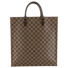 Louis Vuitton Sac Plat NM Handbag Damier
