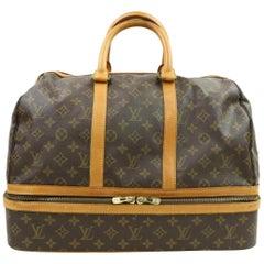 Louis Vuitton Sac Sport Monogram 870440 Brown Coated Canvas Weekend/Travel Bag