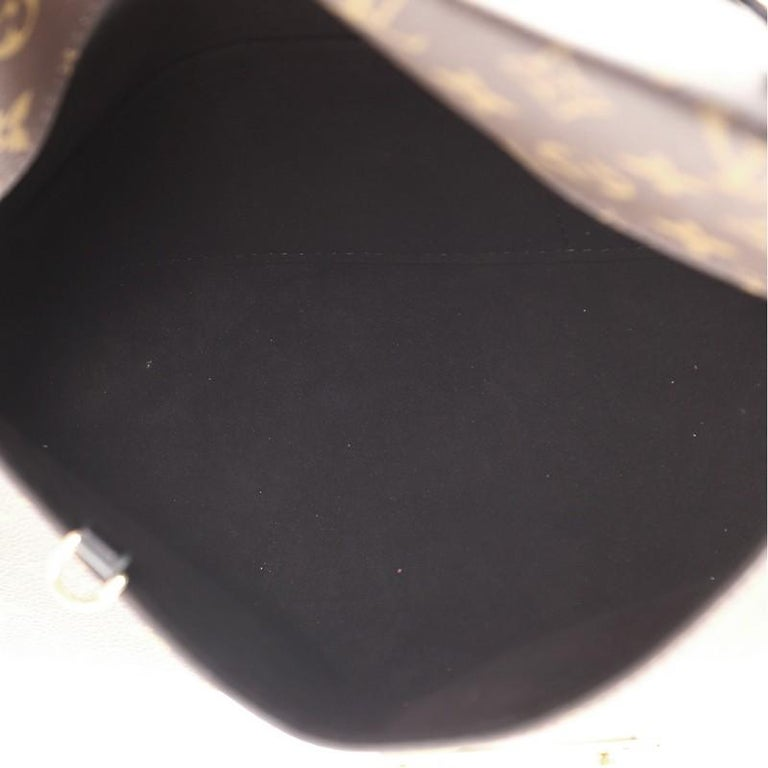 Louis Vuitton Sac Triangle Handbag Monogram Canvas PM For Sale 1