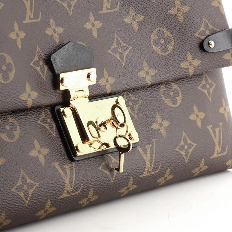 Louis Vuitton Sac Triangle Handbag Monogram Canvas PM For Sale 2