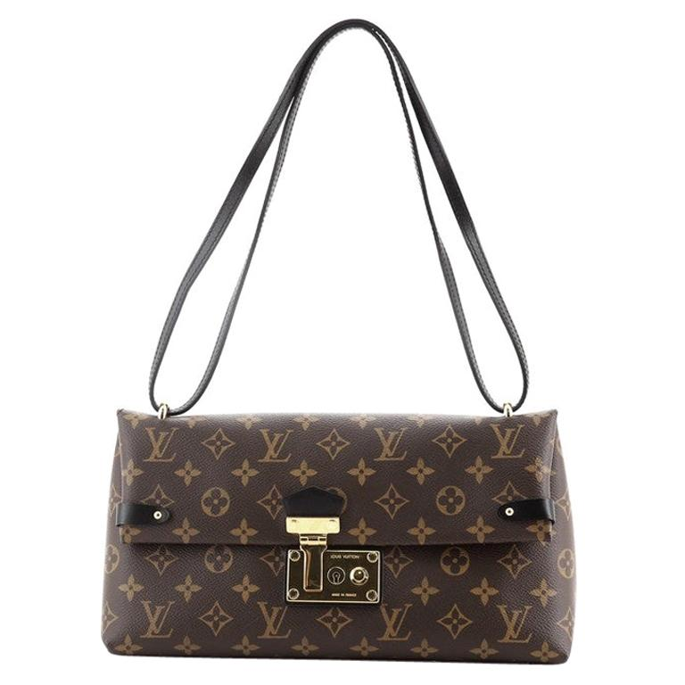 Louis Vuitton Sac Triangle Handbag Monogram Canvas PM For Sale