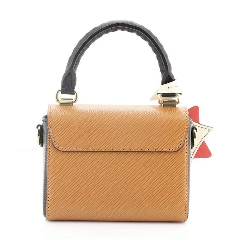 Louis Vuitton Sac Twist Bag Limited Edition Crafty Epi Leather Mini In Good Condition For Sale In New York, NY