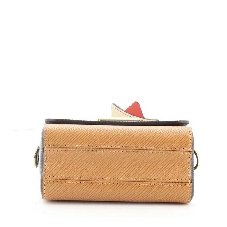 Women's or Men's  Louis Vuitton Sac Twist Bag Limited Edition Crafty Epi Leather Mini For Sale
