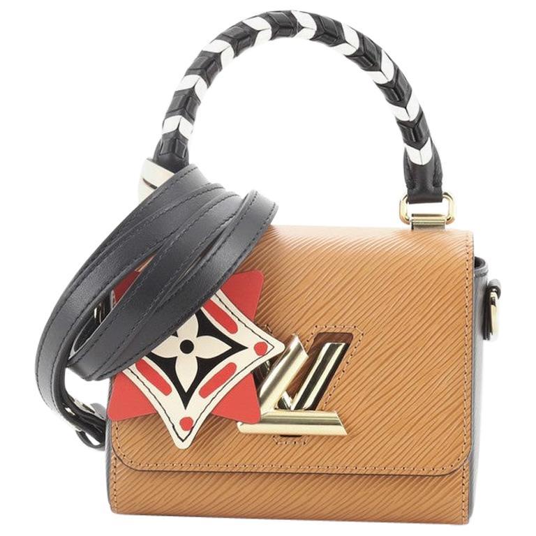 Louis Vuitton Sac Twist Bag Limited Edition Crafty Epi Leather Mini For Sale