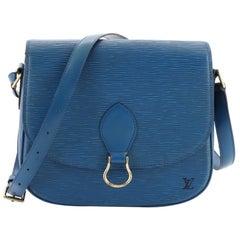 Louis Vuitton Saint Cloud Handbag Epi Leather GM